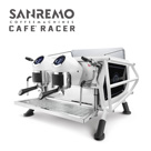 SANREMO CAFE RACER BLACK & WHITE 雙孔營業用咖啡機 220V